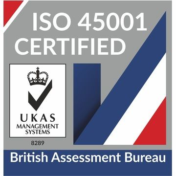 Cooltherm is proud to achieve ISO45001