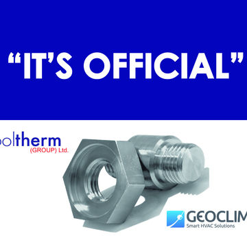 IT'S OFFICIAL!  COOLTHERM FORMS EXCLUSIVE PARTNERSHIP WITH GEOCLIMA