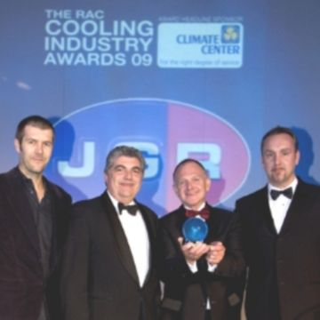Turbomiser chiller wins double accolade in awards